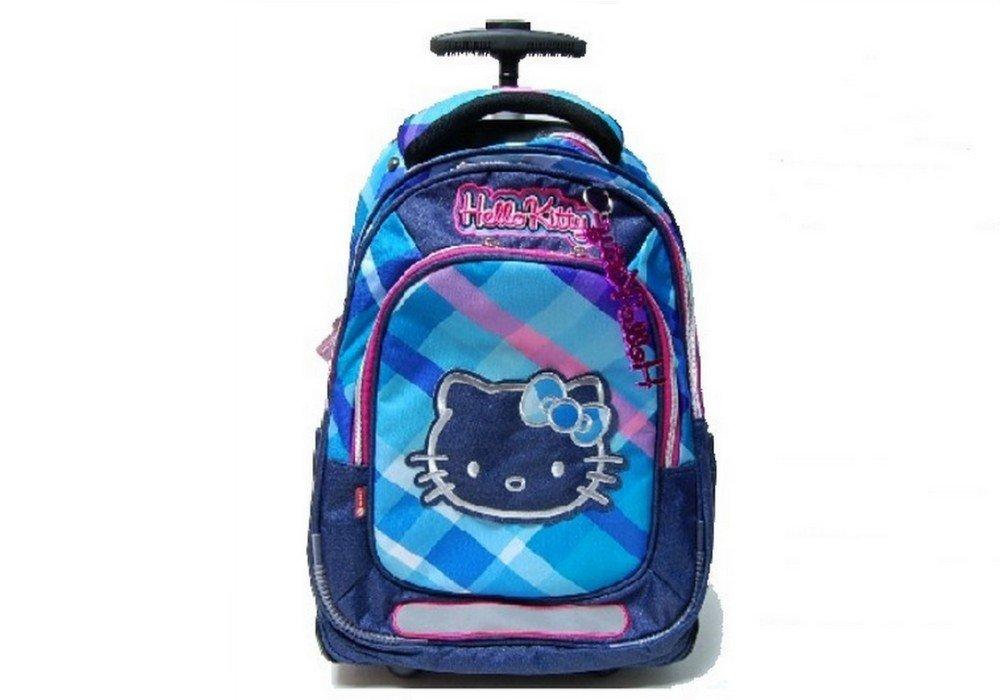 Hello Kitty - Bolsa azul escolar  niños Azul azul Bolsa 227db6