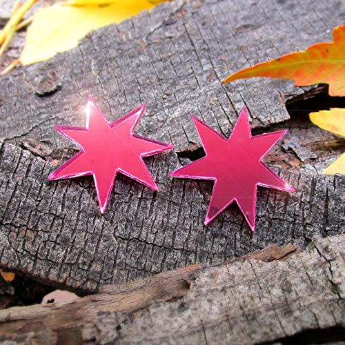 Halloween Jem Holograms (Shiny Pink Jem Star Cosplay)