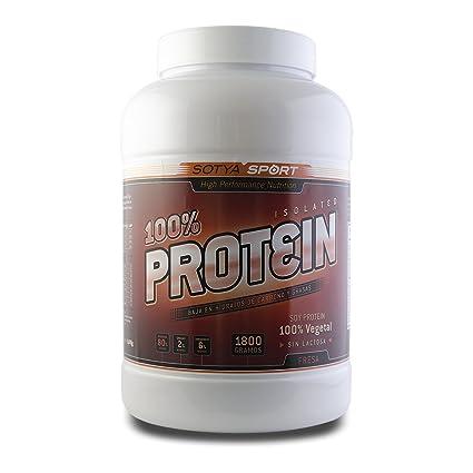 SOTYA - SOTYA Proteína Soja 100% Fresa 1.800 kg