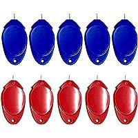 Cor aleatória – Ferramenta de costura para inserção de agulha e costura manual de máquina de costura guia idosos…