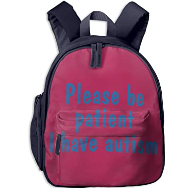 Please Be Patient I Have Autism Cute Girls Backpack