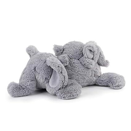 Amazon.com: DEMDACO - Peluche de elefante y bebé musical ...