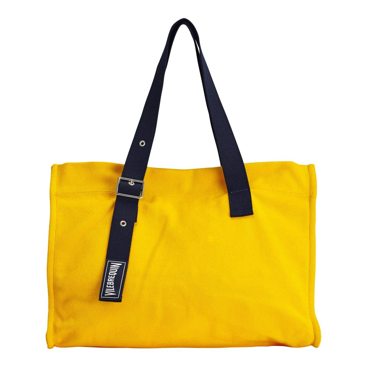 Vilebrequin - Large Cotton Beach Bag Solid - Mango - OSFA by Vilebrequin