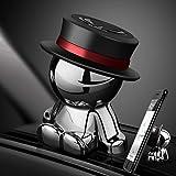 Magnetic Car Holder Magnet Car Mount aokway Dashboard Cell Phone Holder Universal Dash Mount Hands Free(Black)