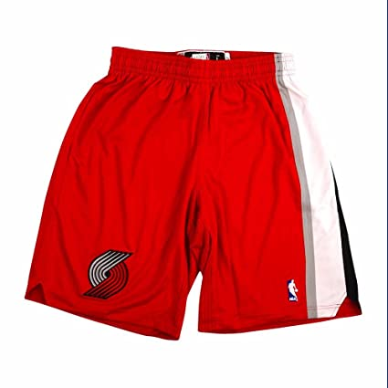 ae69b37745d adidas Portland Trail Blazers NBA Black Authentic On-Court Climacool Team  Game Shorts for Men