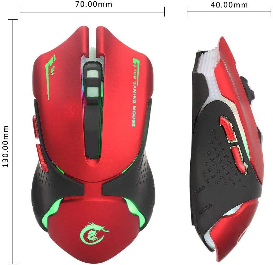 A903R Optical 3200DPI 6D USB Gaming Wired Mouse