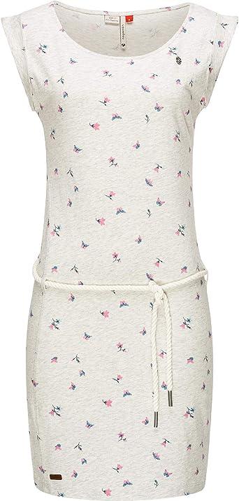Ragwear Tamy Vestido Ligero de algodón de Mujer para el Verano XS-XL: Amazon.es: Ropa y accesorios