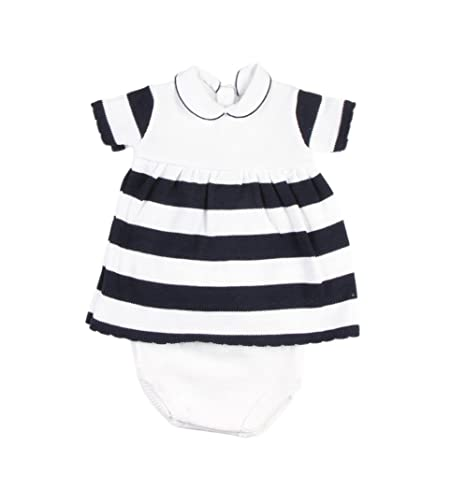 3a25b1e52f21f Ensemble bébé fille 2 pièces - robe et bloomer (12 mois)  Amazon.fr ...