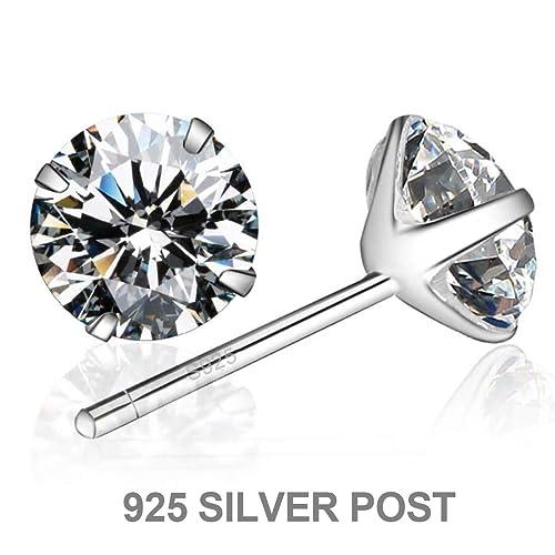 Amazon.com: Enameljewelries - Pendientes de tuerca de oro ...