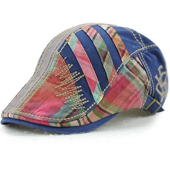 Impression 1 PCS Boinas Ocio Retro Hat Gorra de Golf Sombrero de Sol Deporte al Aire Libre Primavera Verano para Unisex Hombre Mujer BrG3PNR