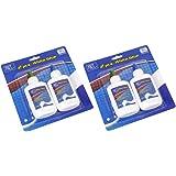 4 PIECE WHITE GLUE SET - washable non-toxic - 100ml Craft PVA glue - FREE DELIVERY