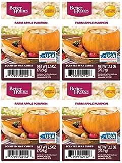 2-Pack RP-6339x2 Better Homes and Gardens Farm Apple Pumpkin Wax Cubes 5oz
