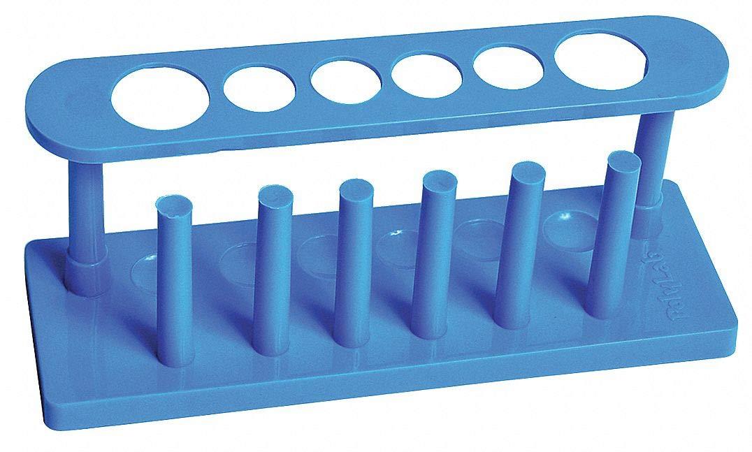 Test Tube Rack Blue United Scientific- Pack of 5