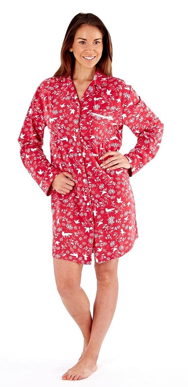 80%OFF Mujeres damas ropa de dormir ropa de noche otoñal impresión ...