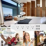 WiFi Smart Power Strip, Hinotori Surge Protector