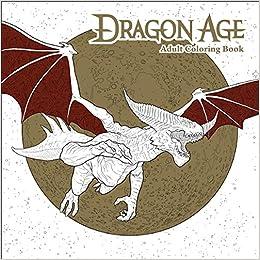 Amazon Dragon Age Adult Coloring Book 9781506702834 Bioware Books