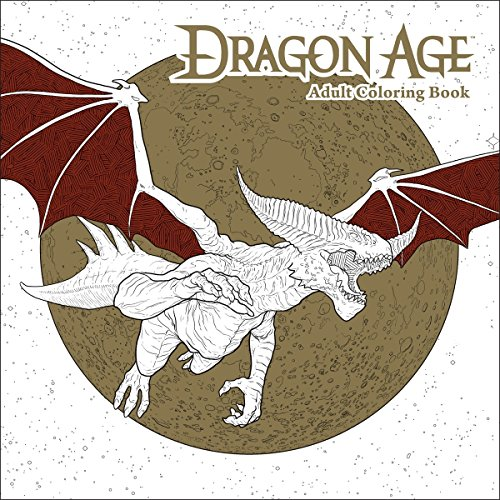 (Dragon Age Adult Coloring Book)