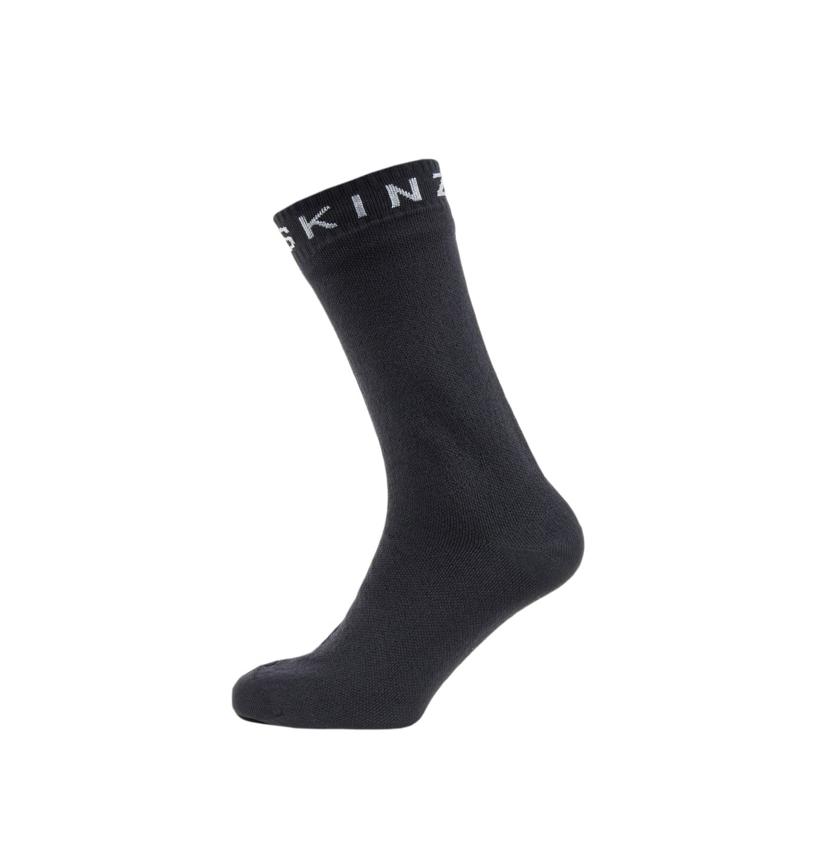 SealSkinz Super Thin Mid Walking Socks - SS19 - Medium - Black by SEALSKINZ