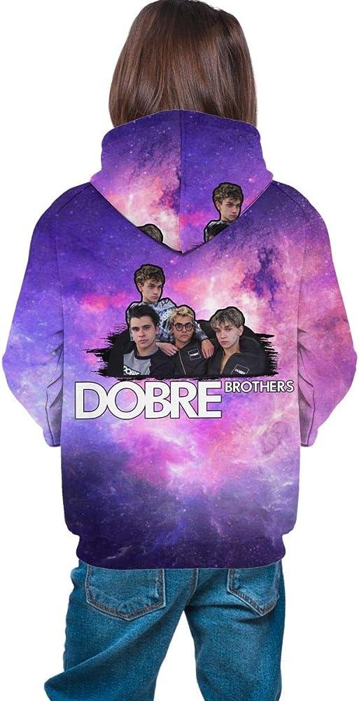 Kids Dobre Brothers Hoodie T Shirt Youtuber Merch Marcus Lucas Boys Girls Top