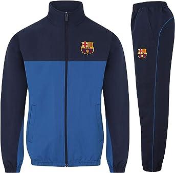 FCB FC Barcelona - Chándal Oficial para niño - Chaqueta y pantalón ...