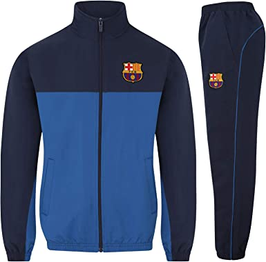 FC Barcelona - Chándal oficial para niño - Chaqueta y pantalón ...
