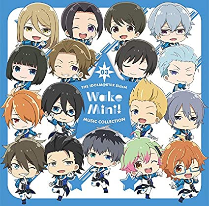 THE IDOLM@STER SideM WakeMini! MUSIC COLLECTION