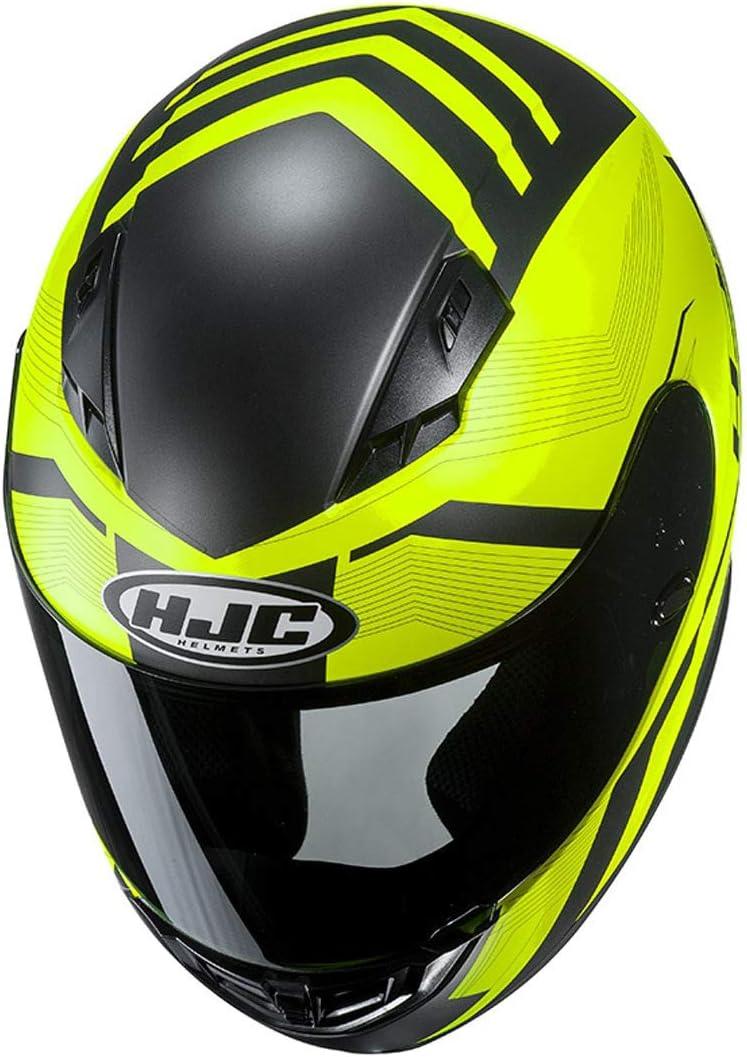 Casco moto HJC CS 15 FAREN MC7SF XS Nero//Oroange