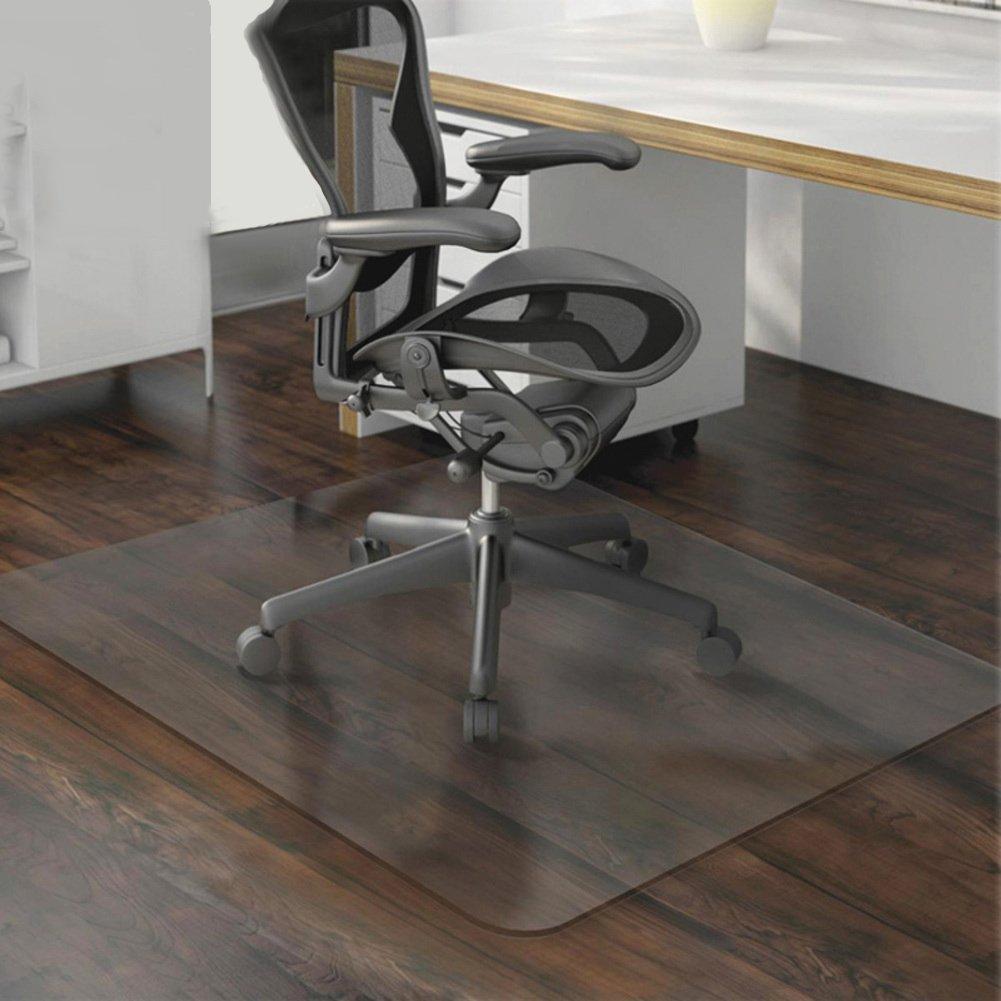 JKOPWLXGHWTC PVC Transparent Mat/Computer Chair Mat/Swivel Chair  Protector/Floor Mats/Wood Floor Protector/Carpet/Transparent Mat-A