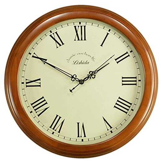 YHEGV Reloj de Pared con Pared de Objetos de decoración en Silencio/año de Cosecha/Relojes Antiguos/Reloj Americano Wall-E 16: Amazon.es: Hogar