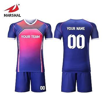f0361829447 ZHOUKA Summer day DIY Shirt custom mens own team logo design soccer jerseys  (S)