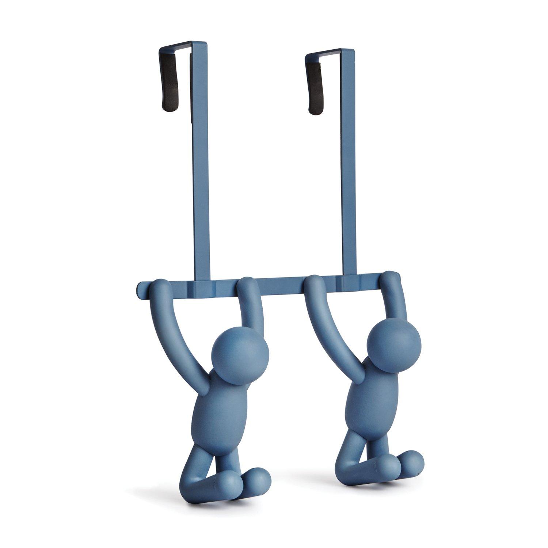 Umbra Buddy Double Over-The-Door Hook, Mist Blue