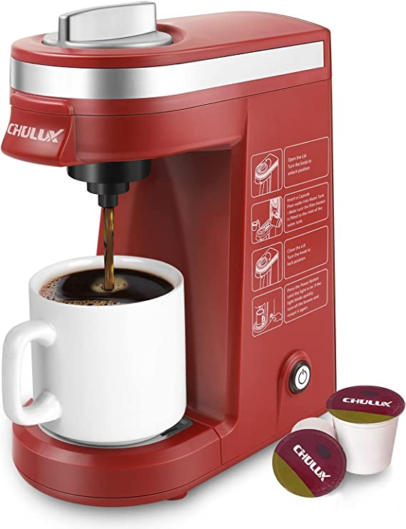 CHULUX Single Cup Coffee Maker Travel Coffee Brewer