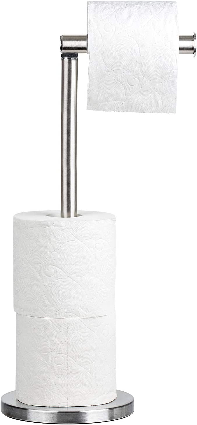 Tatkraft Kiara Toilet Paper Stand Storage, Toilet Paper Roll Holder