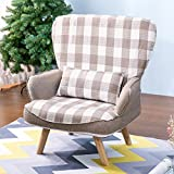 Harper Bright Designs Accent Chair Armchair Living Room Chair Living Room Furniture (White)