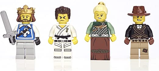 LEGO Warriors Minifigure Collection Exclusive Toys