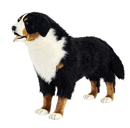 Amazon Com Hansa True To Life Standing Bernese Mountain Dog Toys