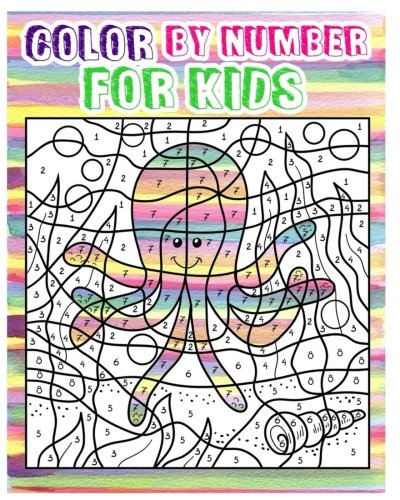 Color By Number for Kids: Animals  Coloring Book For Kids Ages 4-8 (Activity Book For Kids: Dot To Dot Game)(+100 Pages) -