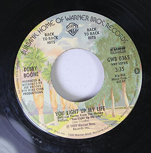Debby Boone 45 RPM You Light Up My Life / Hasta Manana