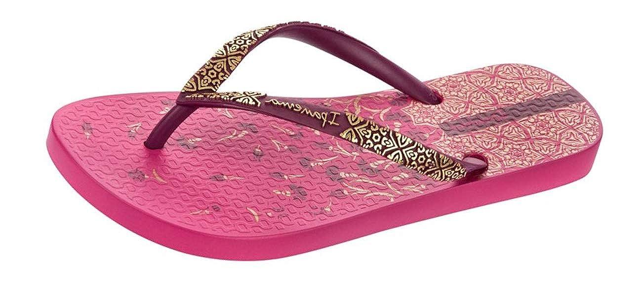 ffc72d133 Ipanema Womens Flip Flops Aloe Flower Beach Sandals-Pink-7  Amazon.co.uk   Shoes   Bags