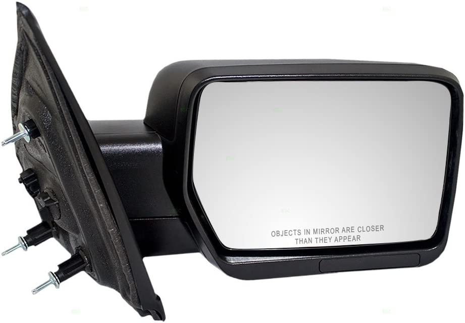 Power Mirror Left Driver Side Fits 09-14 Ford E-150 AC2Z17683AA Textured Black