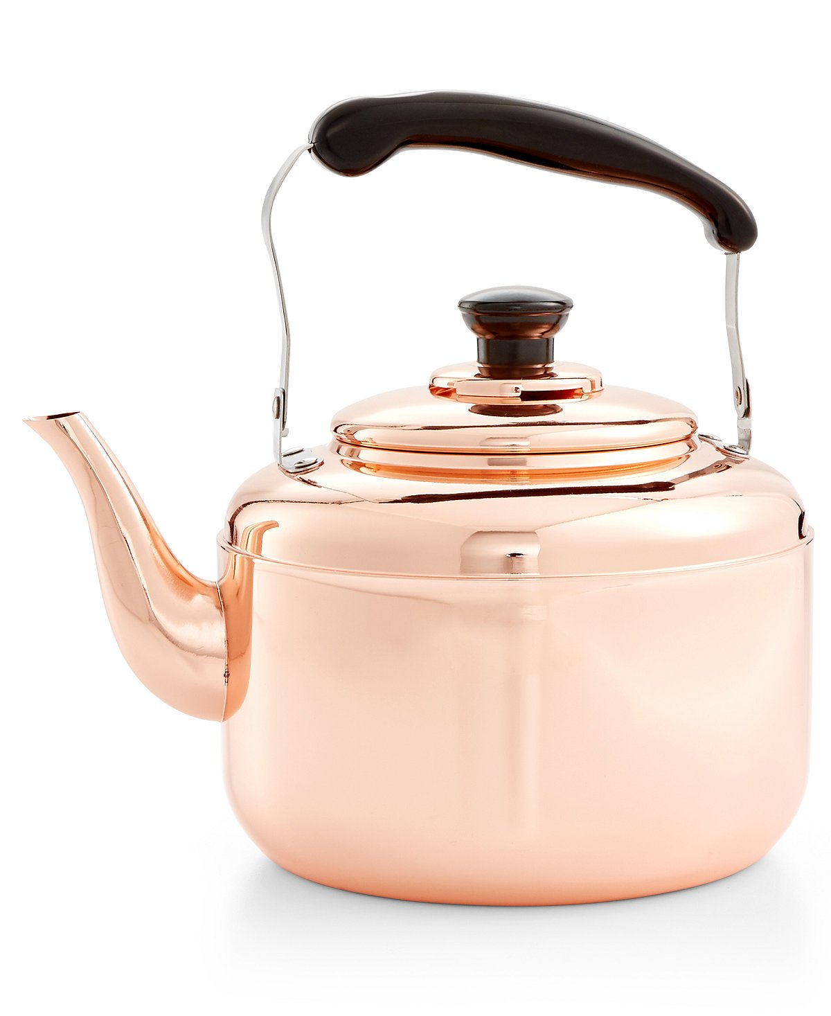 Martha Stewart Vintage Heirloom Copper Tea Kettle