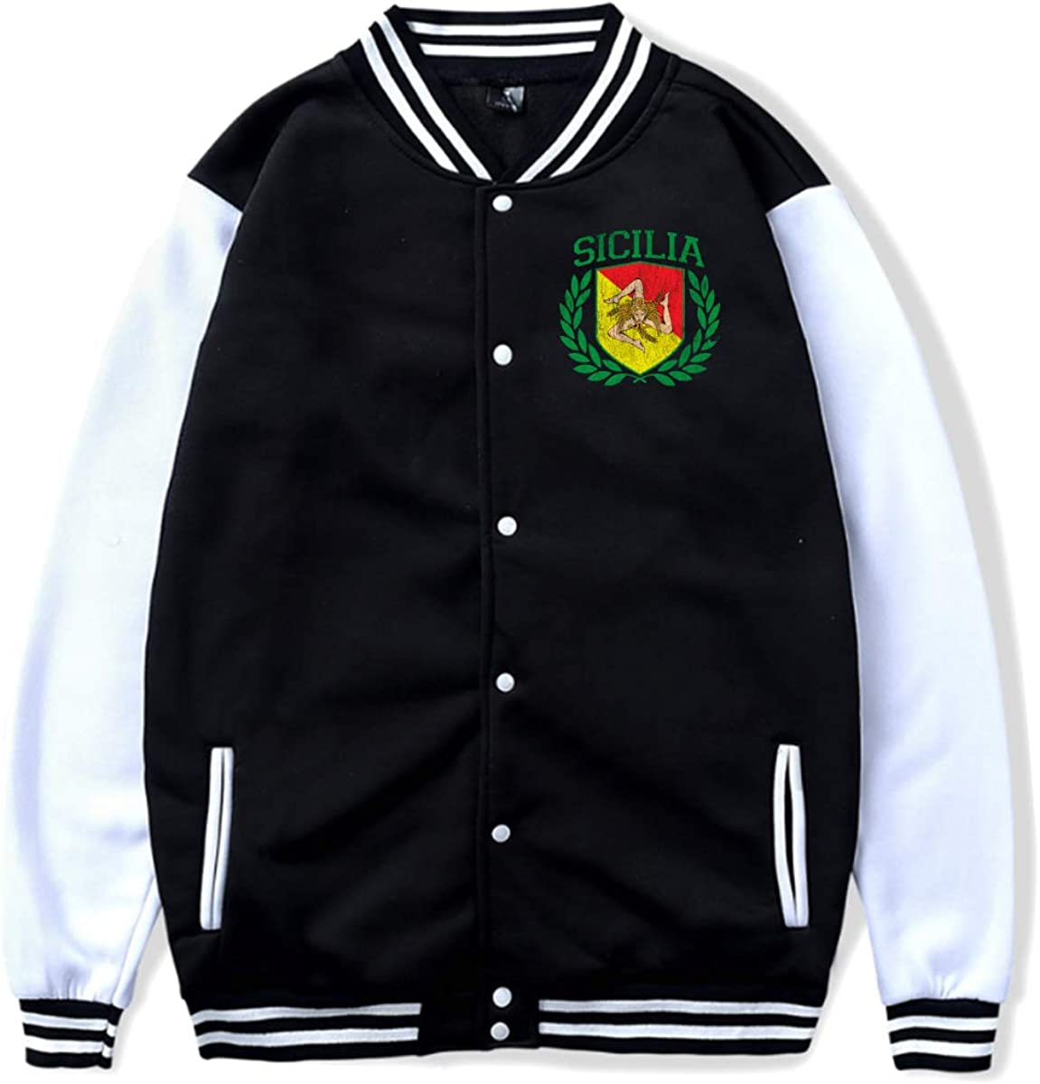 Sicilian Crest Baseball Uniform Jacket Sport Coat