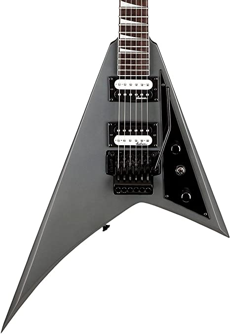 Jackson JS32 Rhoads Satin Gray Guitarra Electrica: Amazon.es ...