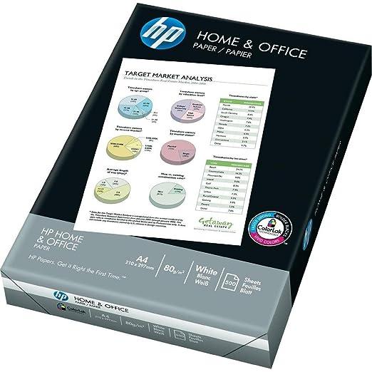40 opinioni per HP Home and Office Carta, Formato A4, 107 Micron, Risma 500 Fogli, Certificata