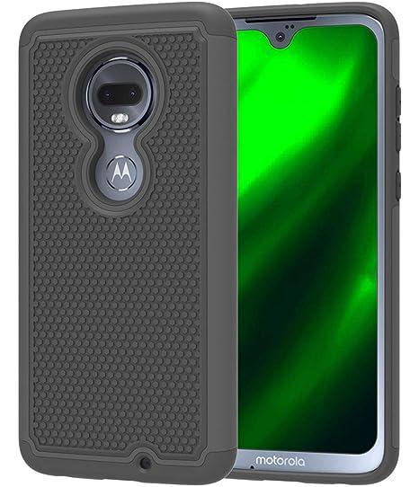 new concept 8923f 44a0a Moto G7 Case, Motorola Moto G7 Case, Asmart Drop Protection Moto G7 Phone  Case Armor Defender Cover Dual Layer Protective Case for Motorola Moto G7  ...