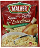 Malher Chicken and Star Soup, 2.1 Ounce (Pack of 12)