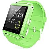 Padgene Bluetooth 4.0 Smart Watch for Smartphones - Green