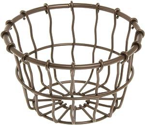 American Metalcraft WBBS Basket, Wire, Bronze, Small