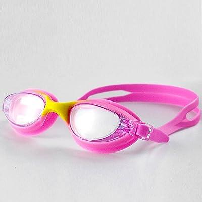 Axiba Lunettes de silicone natation lunettes de natation adultes, hommes et femmes générales anti-buée HD lunettes