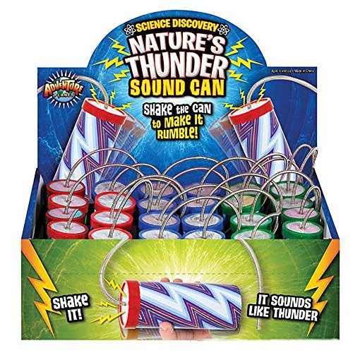- Kicko Thunder Can – 3.5 inches Thunder-Producing Sound Spring Drums (Pack of 12) – Storm Sound Noisemaker – Perfect Loud Sound For Rallies and Events